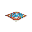 Bally Coin Door Sticker M-1895
