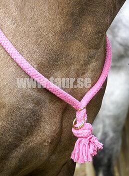 Halsring / cordeo Brockamp (tre storlekar), rosa
