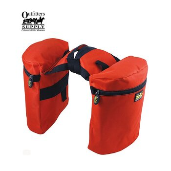 Outfitters Supply™ TrailMax Original Pommelbags (hornväskor) Western, Orange