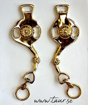 Skänklar - Baroque 1700, guld