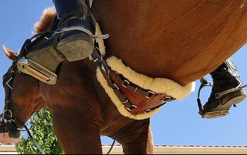 XpandGirth® Dressage Girth 'SLIM' (bl.a. ponnies) - medicinskt fårskinn