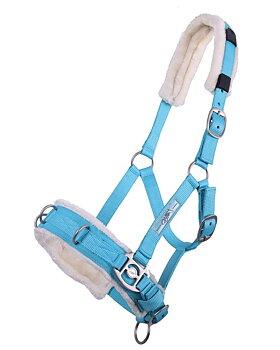 Nylonkapson Soft QHP, 3 ringar, ljusblå