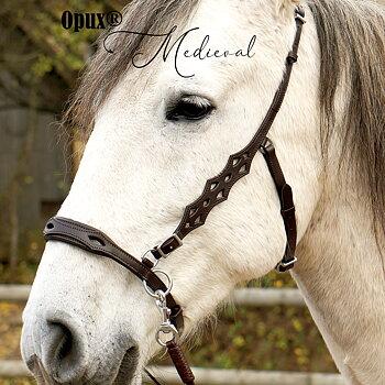 Opux® Sidepull 'Medieval', havanna, cob