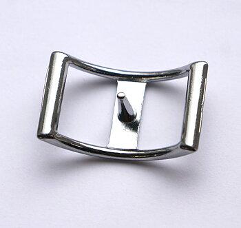 Conway spänne, silver, 17 mm