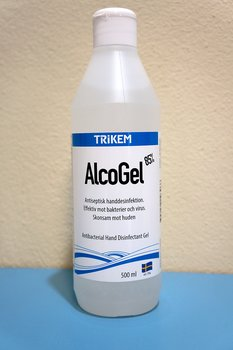 Handsprit / Alcogel Renons 85%, 500 ml (mot bl.a. virus)