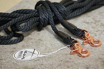 Långtygel Opux® (för markarbete), svart/rosegold, 8 m