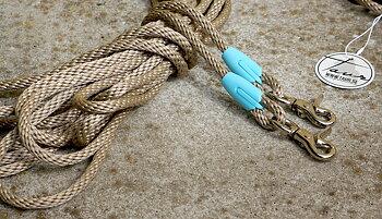 Långtygel Opux® (för markarbete), beige/babyblue, 12 m