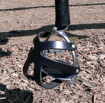 Barefoot® Distans/säkerhetsstigbyglar med bur (2:a sort)
