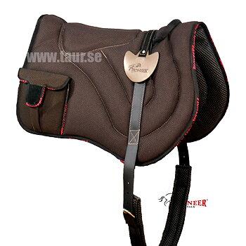 Pioneer® Ridpad Barbacka i  Air Mesh LIGHTWEIGHT med väskor (fler färger)