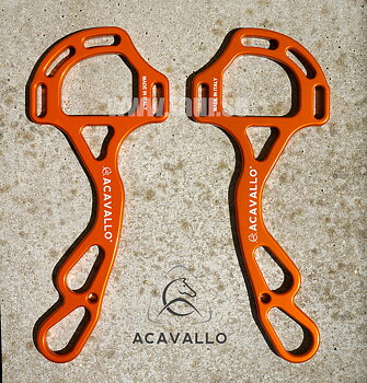 Acavallo® AluPro hackamore Superlight, orange