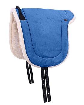 Barbacka / ridpad QHP (två storlekar), ljusblå