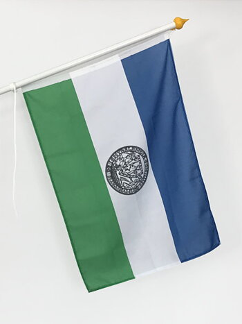 Republiken Jämtlands fasadflagga