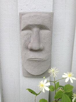 Skulptur Tiki Easter Island ansikte