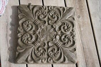 Gjutform platta, gångplatta rustik vintage