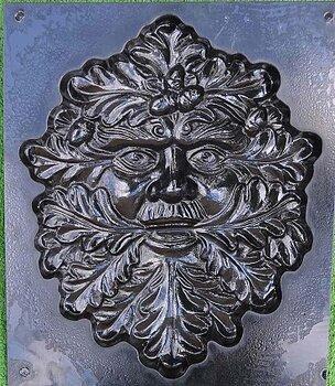 Gjutform ansikte greenman plast No 2