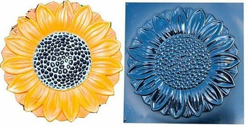 Plastgjutform solros ABS - plast
