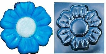 Plastgjutform Blomma 2  ABS - plast