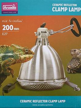Arcadia Clamp Lamp 200mm