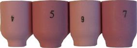 Gaslens alumina cup #4 Linde 9-20