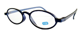 Reading glasses KL-05 blue +2,0