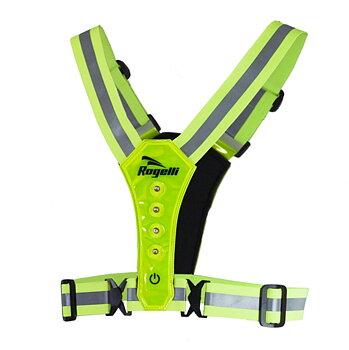 Running vest, fluor led