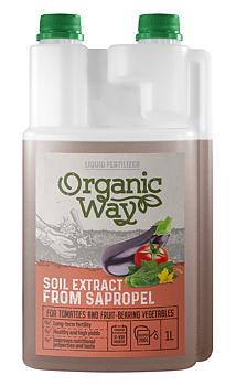 Organic Way Soil Extract from SAPROPAL Tomat och fruktbärande växter