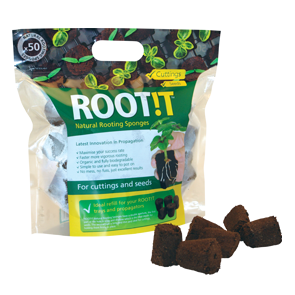 ROOT!T 50-pack rotningsbriketter