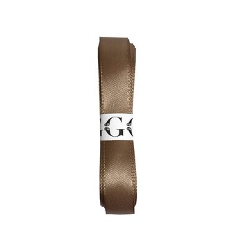 GIFTSETTER EXCLUSIVE satin ribbon nougat