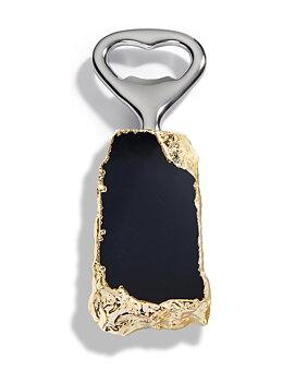ANNA New York Héritage kapsylöppnare obsidian/guld