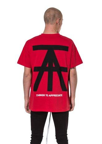 TTA AW18 Logo Tee Red