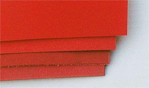 Vulkanfiber röd 0,4 mm