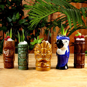 Tiki-Muggar Luau Party-set
