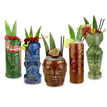 Tiki-Muggar Tropical Party-set