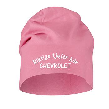 Mössa Cottover Riktiga Tjejer Kör Chevrolet