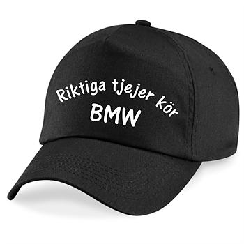 Keps Riktiga Tjejer Kör BMW