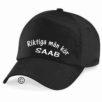 Keps  Riktiga Män Kör Saab