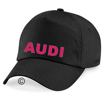 Keps svart Audi