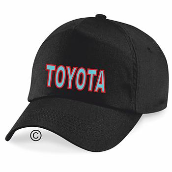 Keps svart Toyota