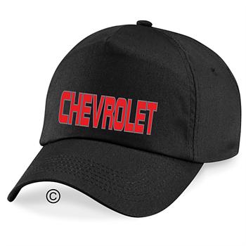 Keps svart Chevrolet