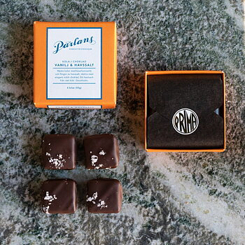 Pärlans - Kola i Choklad Vanilj & Havssalt 50g