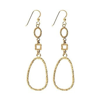 Emma Israelsson Drop Antique earrings gold
