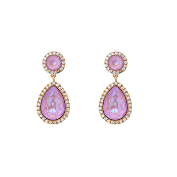 Lily and Rose Miss Carlotta earrings Lilac rainbow