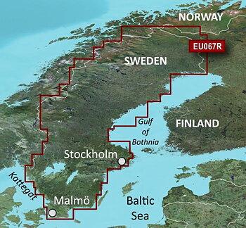 HXEU067R - Sweden Inland Waters