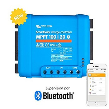 Victron SmartSolar MPPT100/20