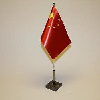 Bordsflagga Kina