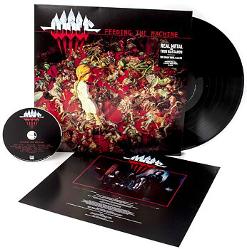Wolf - Feeding The Machine - LP+CD