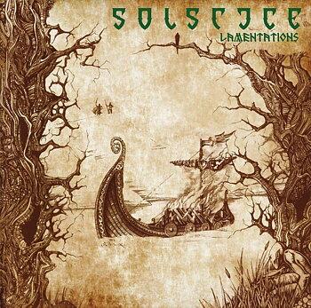 Solstice - Lamentations - Grön LP