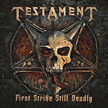 """Testament - First Strike Still Deadly - LP+7"""""""