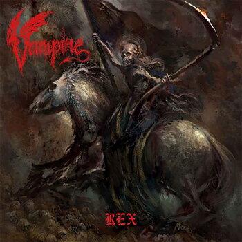 Vampire - Rex - Röd LP