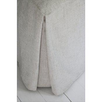Sängkappa Sicily Natur till dubbelsäng, höjd 52 cm